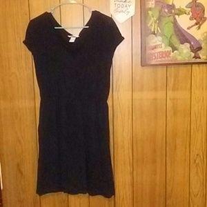H&M Basic Black Dress